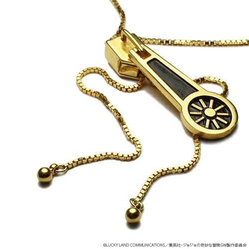 【ジャムホームメイド(JAMHOMEMADE)】『ジョジョの奇妙な冒険』 ジッパーネックレス(スティッキー・フィンガーズ)