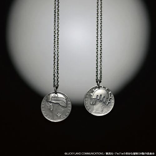 【ジャムホームメイド(JAMHOMEMADE)】『ジョジョの奇妙な冒険』  コイン ネックレス (ジョルノ・ジョバァーナ)