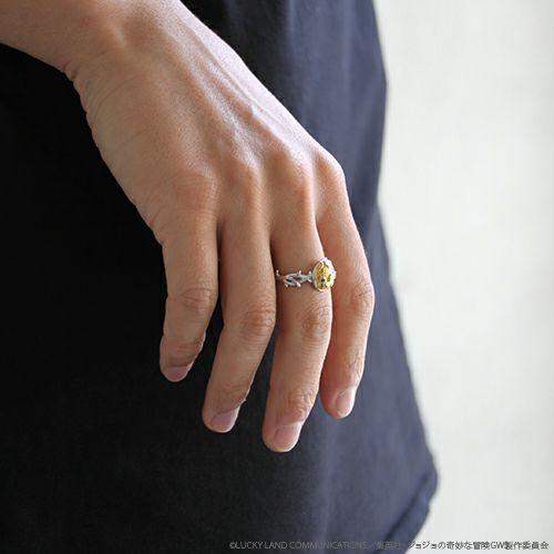 『ジョジョの奇妙な冒険』黄金の風リング / 指輪(ゴールド・エクスペリエンス)