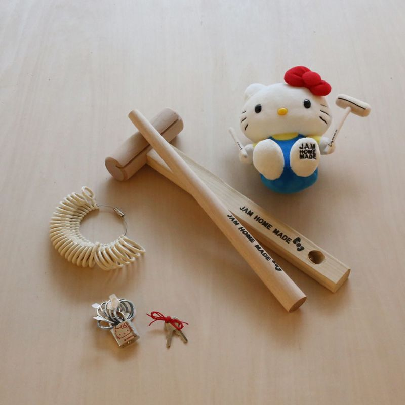 ハローキティ 名もなき指輪キット - HELLO KITTY NAMELESS RING KIT -シルバー925- /ペアリング