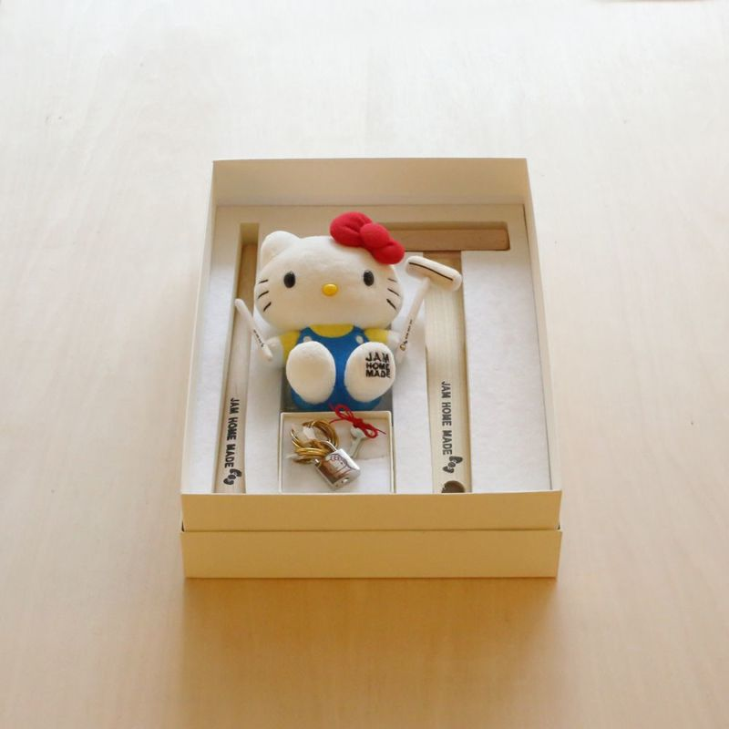 【ジャムホームメイド(JAMHOMEMADE)】ハローキティ 名もなき指輪キット - HELLO KITTY NAMELESS RING KIT - 真鍮 /ペアリング