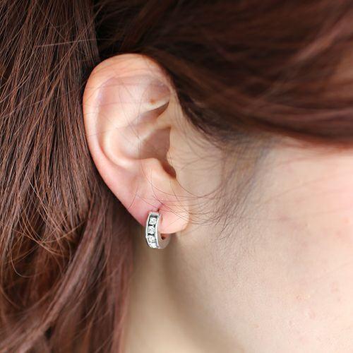 ピアス / エターナルピアス -SILVER- / 片耳 メンズ レディース ユニセックス 人気 おすすめ ブランド スワロ