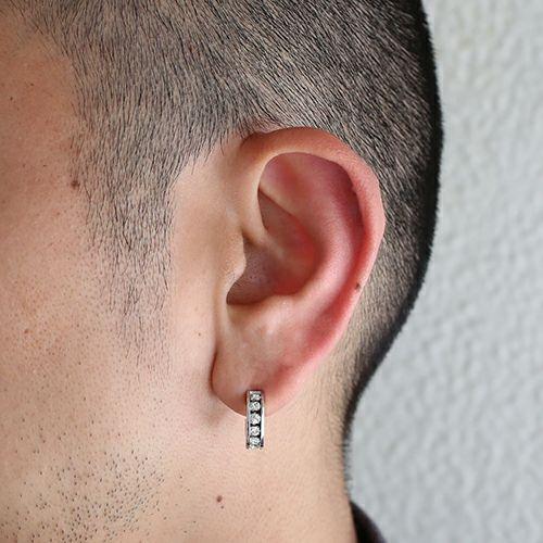 【JAM HOME MADE(ジャムホームメイド)】エターナルピアス -SILVER- / 片耳 メンズ レディース ユニセックス 人気 おすすめ ブランド スワロ