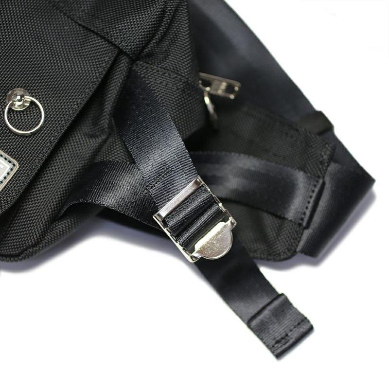 旅行用カバン / ポーター/PORTER ボディバッグ M メンズ レディース ユニセックス ショルダー サコッシュ ボディ メッセンジャー 旅行 ブラック ナイロン ファスナー