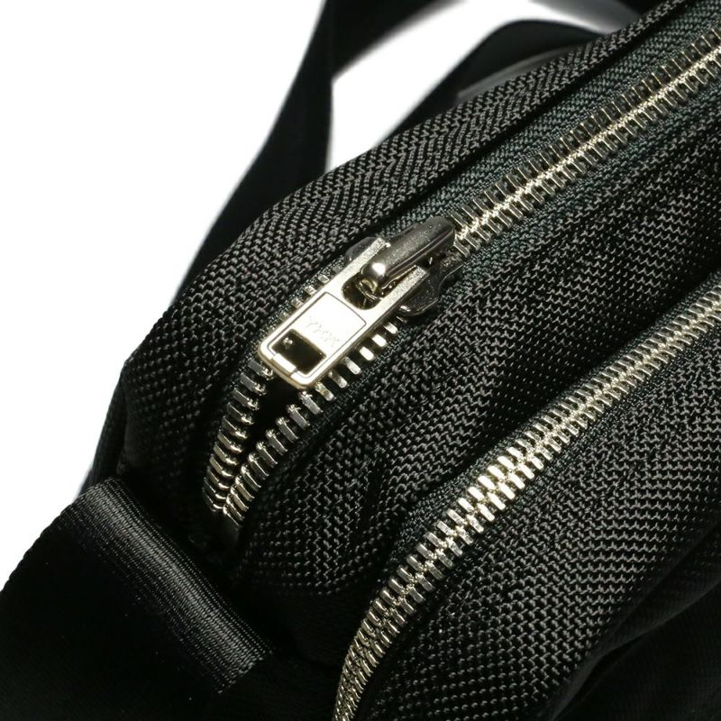 旅行用カバン / ポーター/PORTER ショルダーバッグM メンズ レディース ユニセックス ショルダー サコッシュ ボディ メッセンジャー 旅行 ブラック ナイロン ファスナー