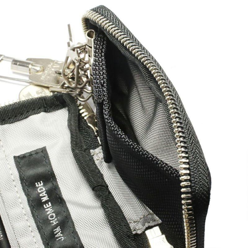 キーケース / ポーター/PORTER メンズ レディース ユニセックス ポーチ ラウンドファスナー ブラック ハイブランド 人気 おすすめ 吉田カバン