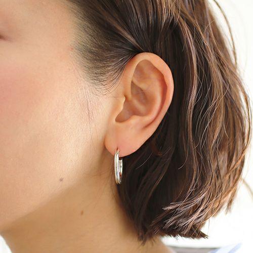 ピアス / AB型 ピアス -NEW TYPE- M / 片耳 メンズ レディース シルバー 925 血液型 アクセサリー 人気 ブランド おすすめ 誕生日 ギフト プレゼント ダイアモンド