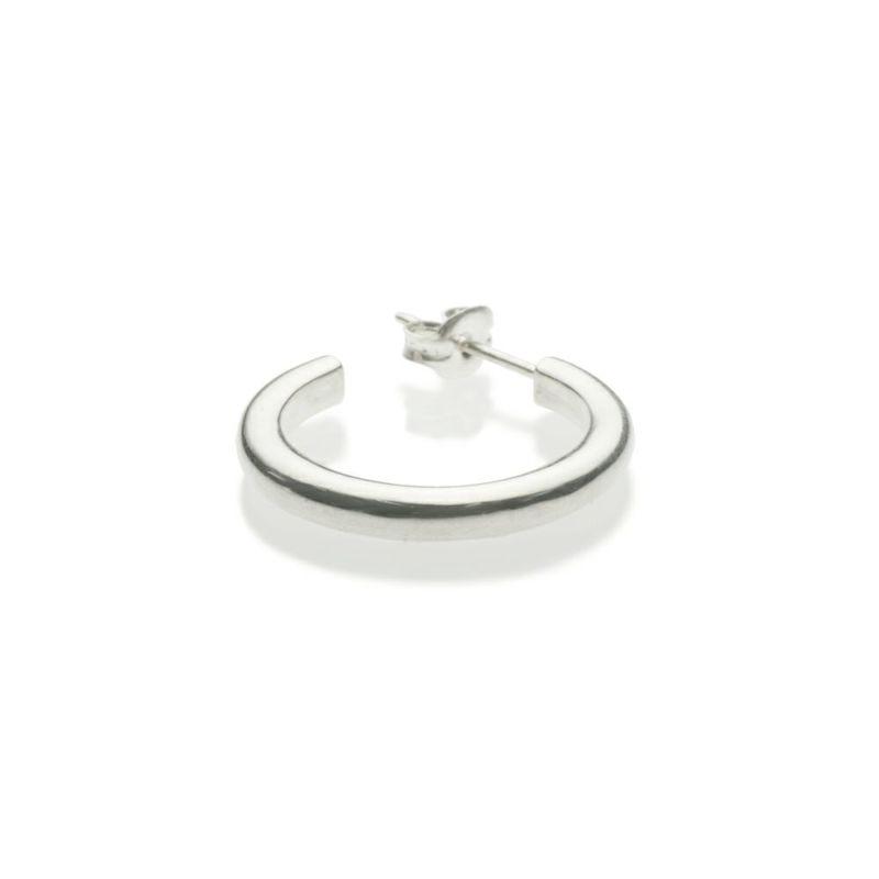 【JAM HOME MADE(ジャムホームメイド)】O型 ピアス -NEW TYPE- M / 片耳 メンズ レディース シルバー 925 血液型 アクセサリー 人気 ブランド おすすめ 誕生日 ギフト プレゼント ダイアモンド