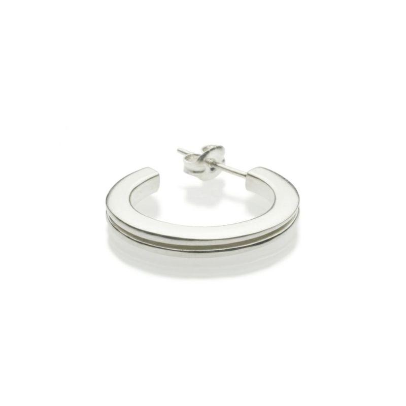 【JAM HOME MADE(ジャムホームメイド)】B型 ピアス -NEW TYPE- M / 片耳 メンズ レディース シルバー 925 血液型 アクセサリー 人気 ブランド おすすめ 誕生日 ギフト プレゼント ダイアモンド