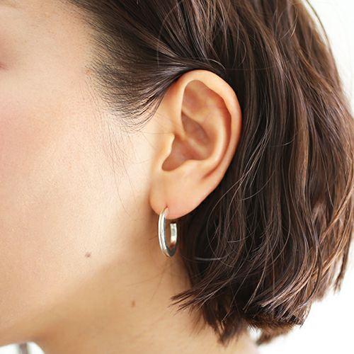 ピアス / B型 ピアス -NEW TYPE- M / 片耳 メンズ レディース シルバー 925 血液型 アクセサリー 人気 ブランド おすすめ 誕生日 ギフト プレゼント ダイアモンド
