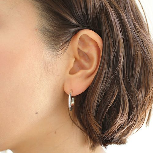 ピアス / A型 ピアス -NEW TYPE- M / 片耳 メンズ レディース シルバー 925 血液型 アクセサリー 人気 ブランド おすすめ 誕生日 ギフト プレゼント ダイアモンド