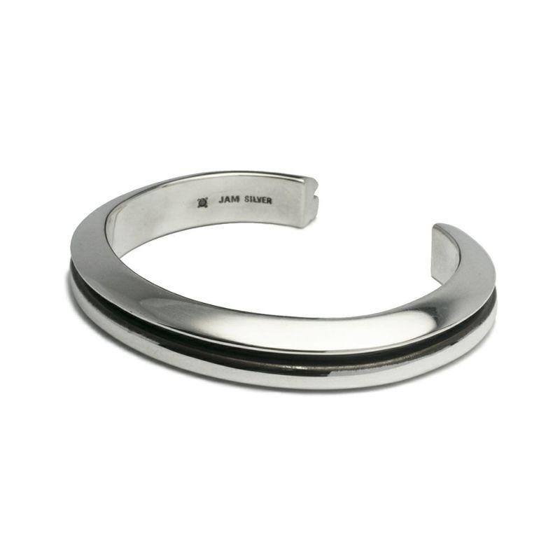 ブレスレット / AB型 バングル L -NEW TYPE- メンズ シルバー 925 人気 おすすめ ブランド シンプル ブレスレット ダイヤモンド ネイティブ 高級