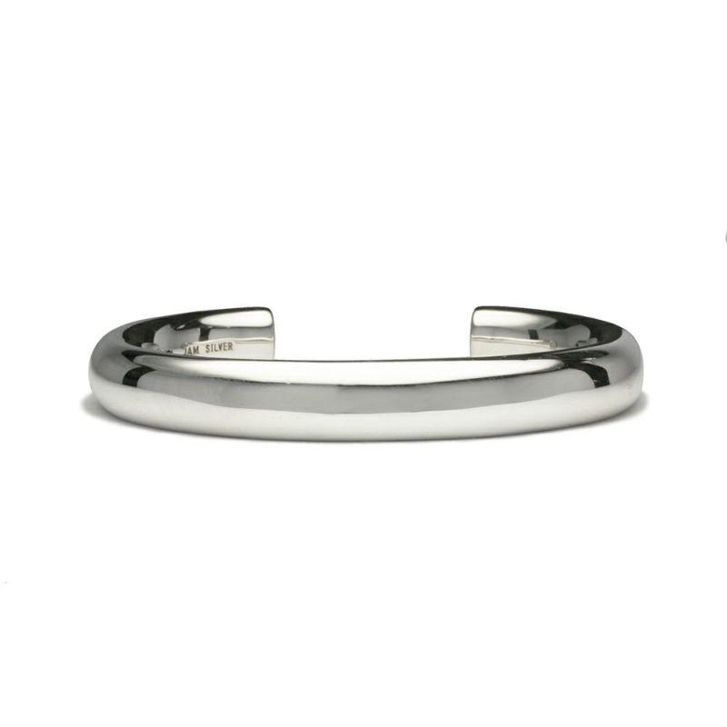 【JAM HOME MADE(ジャムホームメイド)】O型 バングル L -NEW TYPE- メンズ シルバー 925 人気 おすすめ ブランド シンプル ブレスレット ダイヤモンド ネイティブ 高級