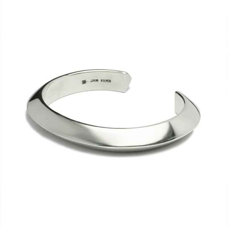 【JAM HOME MADE(ジャムホームメイド)】A型 バングル L -NEW TYPE- メンズ シルバー 925 人気 おすすめ ブランド シンプル ブレスレット ダイヤモンド ネイティブ 高級