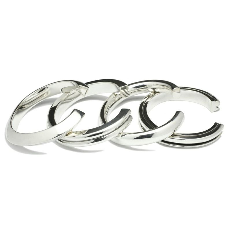 ブレスレット / A型 バングル L -NEW TYPE- メンズ シルバー 925 人気 おすすめ ブランド シンプル ブレスレット ダイヤモンド ネイティブ 高級