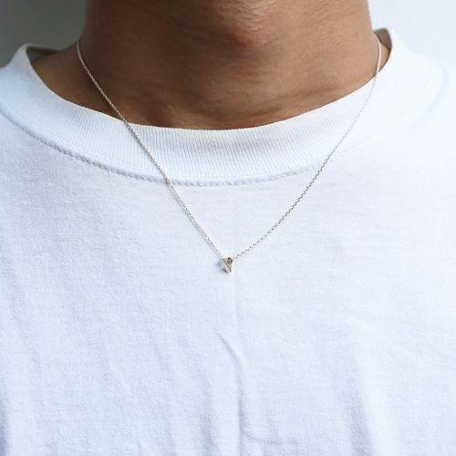 ネックレス / A型 ネックレス -NEW TYPE- メンズ レディース ペア シルバー 人気 ブランド おすすめ 血液型 誕生日 プレゼント ギフト クリスマス シンプル 小ぶり