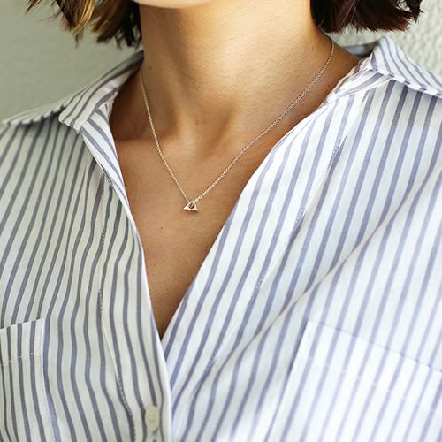 【JAM HOME MADE(ジャムホームメイド)】A型 ネックレス -NEW TYPE- メンズ レディース ペア シルバー 人気 ブランド おすすめ 血液型 誕生日 プレゼント ギフト クリスマス シンプル 小ぶり