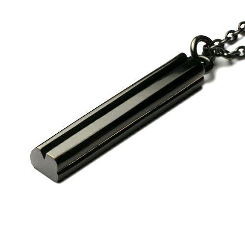 AB型 スティックネックレス BLACK -NEW TYPE-