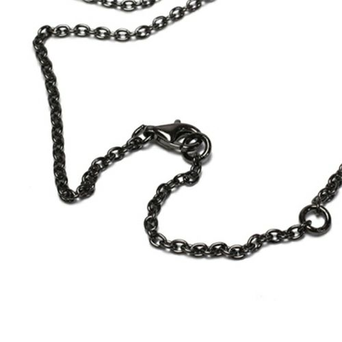 O型 スティックネックレス BLACK -NEW TYPE-