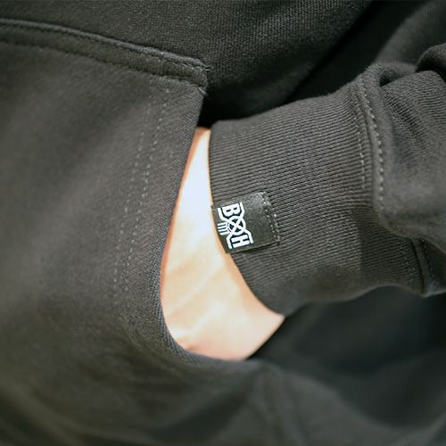トップス / バウンティーハンター / BOUNTY HUNTER ラブ ミッキー パーカー / BLACK ディズニー コラボ 人気 おすすめ ブランド 黒 ホワイト メンズ レディース ユニセックス ペア ハート  ロゴ オーバーサイズ