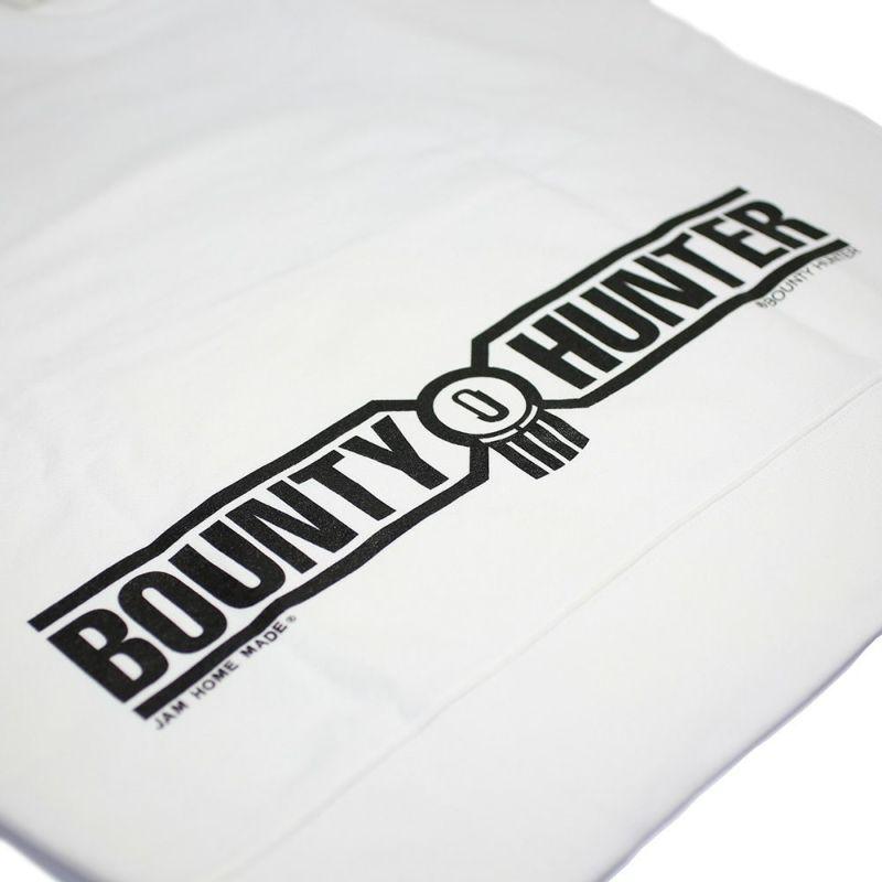 【ジャムホームメイド(JAMHOMEMADE)】バウンティーハンター / BOUNTY HUNTER  ラブ ミッキー パーカー - ホワイト