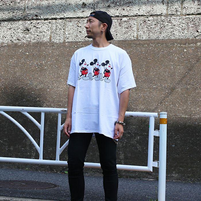 バウンティーハンター / BOUNTY HUNTER  ラブ ミッキー Tシャツ / WHITE