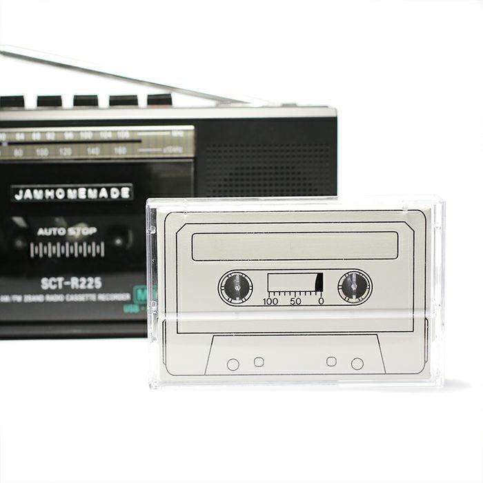 【JAM HOME MADE(ジャムホームメイド)】8ビット ピアス / 片耳 メンズ レディース シルバー 人気 ブランド おすすめ 8bit 本物 プレゼント 誕生日 ギフト Vaporwave ヴェイパーウェイヴ カセットテープ 重ね付け アナログ 音楽 ユニーク