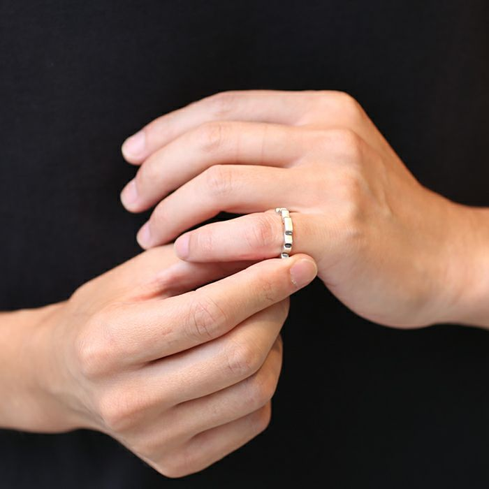 【ジャムホームメイド(JAMHOMEMADE)】8ビット リング S / 指輪