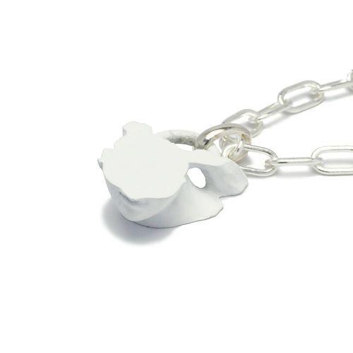 ストーンスタチュー ネックレス WHITE -MOUTH- / ネックレス