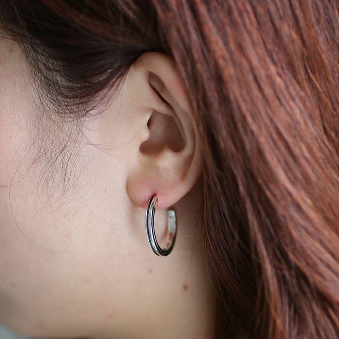 ピアス / AB型 ピアス -NEW TYPE- L / 片耳 メンズ レディース ペア シルバー 925 血液型 アクセサリー 人気 ブランド おすすめ 誕生日 ギフト プレゼント ダイアモンド 大ぶり