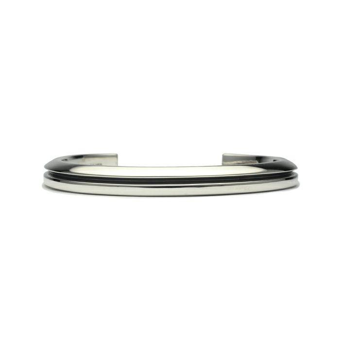 【JAM HOME MADE(ジャムホームメイド)】AB型 バングル M -NEW TYPE- メンズ レディース ペア シルバー 925 人気 おすすめ ブランド プレゼント ギフト シンプル ブレスレット ダイヤモンド ネイティブ 高級