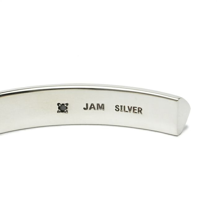 【JAM HOME MADE(ジャムホームメイド)】A型 バングル M -NEW TYPE- メンズ レディース ペア シルバー 925 人気 おすすめ ブランド プレゼント ギフト シンプル ブレスレット ダイヤモンド ネイティブ 高級