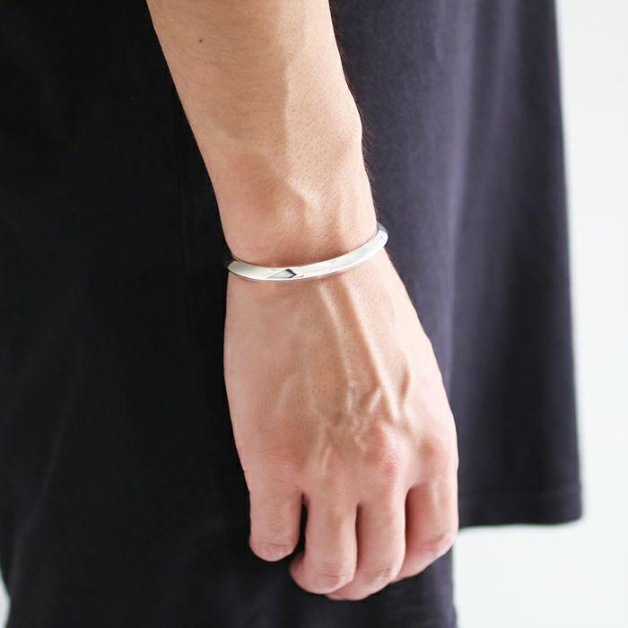 ブレスレット / A型 バングル M -NEW TYPE- メンズ レディース ペア シルバー 925 人気 おすすめ ブランド プレゼント ギフト シンプル ブレスレット ダイヤモンド ネイティブ 高級