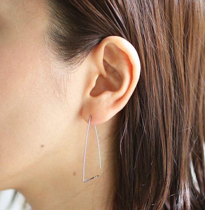 A型 アメリカンフープピアス -NEW TYPE- / 両耳