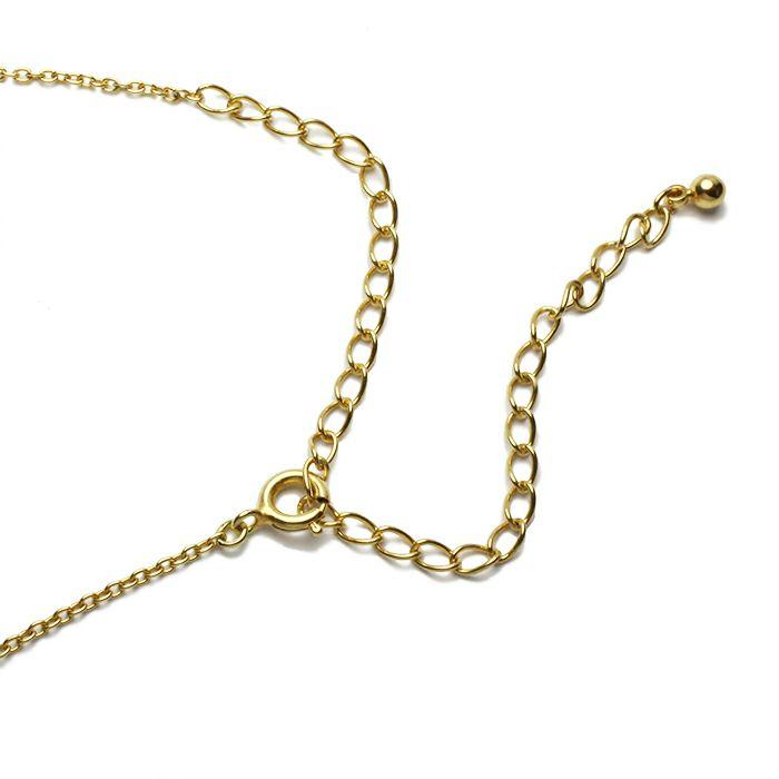 AB型 ダンシングストーンネックレス GOLD -NEW TYPE-