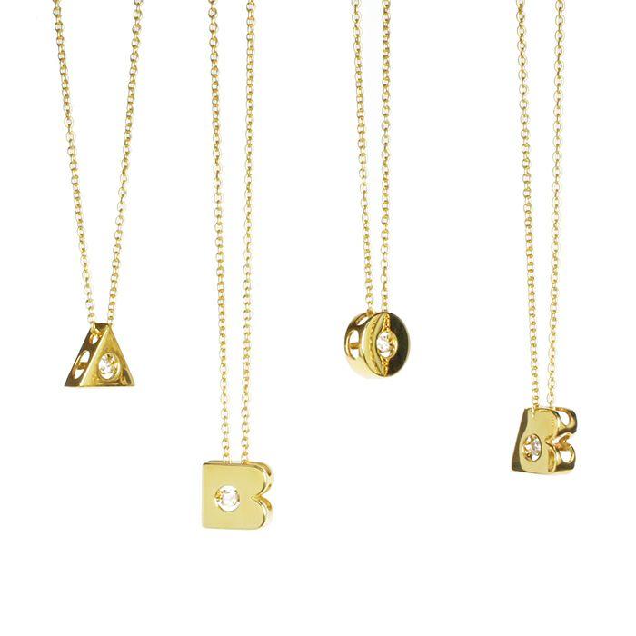 【JAM HOME MADE(ジャムホームメイド)】O型 ダンシングストーンネックレス GOLD -NEW TYPE- レディース 血液型 アクセサリー 人気 ブランド おすすめ 誕生日 ギフト プレゼント 大ぶり ダイヤモンド センターストーン 振動 鼓動 輝き ゴールド
