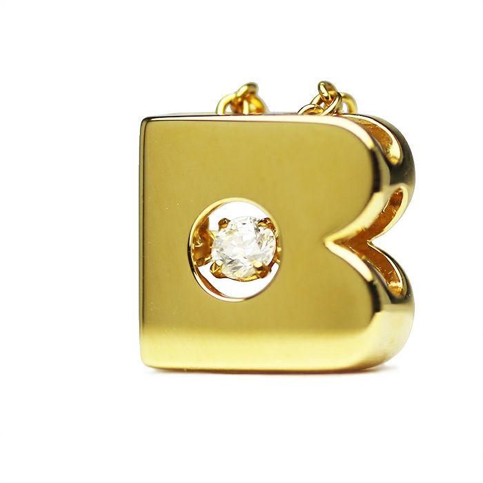 ネックレス / B型 ダンシングストーンネックレス GOLD -NEW TYPE- レディース 血液型 アクセサリー 人気 ブランド おすすめ 誕生日 ギフト プレゼント 大ぶり ダイヤモンド センターストーン 振動 鼓動 輝き ゴールド