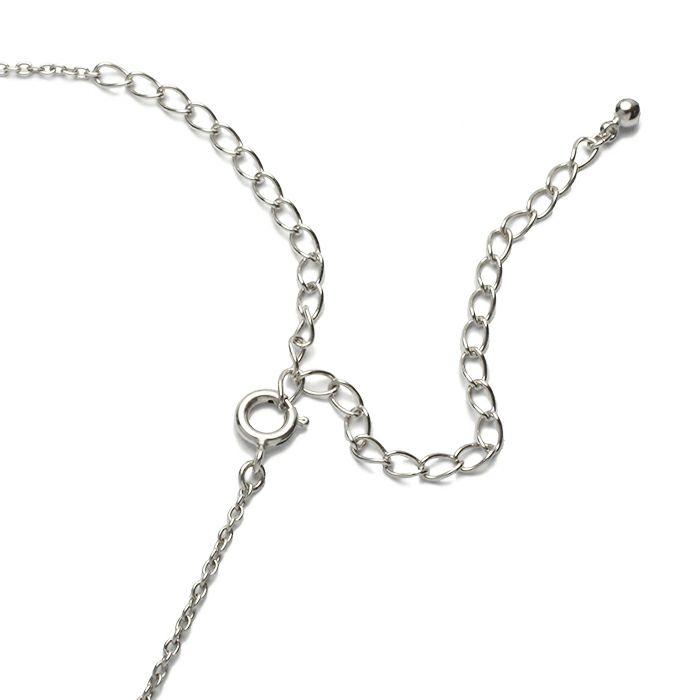 ネックレス / O型 ダンシングストーンネックレス SILVER -NEW TYPE- レディース 血液型 アクセサリー 人気 ブランド おすすめ 誕生日 ギフト プレゼント 大ぶり ダイヤモンド センターストーン 振動 鼓動 輝き