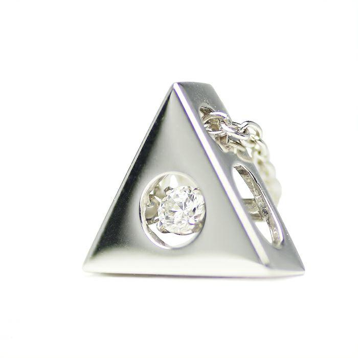 【JAM HOME MADE(ジャムホームメイド)】A型 ダンシングストーンネックレス SILVER -NEW TYPE- レディース 血液型 アクセサリー 人気 ブランド おすすめ 誕生日 ギフト プレゼント 大ぶり ダイヤモンド センターストーン 振動 鼓動 輝き