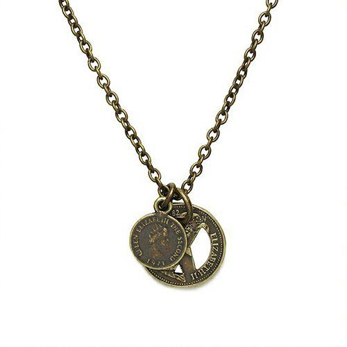 ネックレス / PEACE PROJECT/ピースプロジェクト コインネックレス -GOLD- / メンズ レディース ユニセックス ピースマーク ゴールド 硬貨 コラボ 人気 おすすめ ブランド プレゼント ギフト ペアネックレス