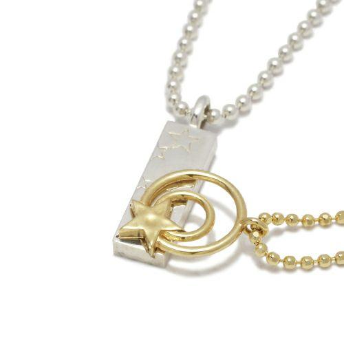 【JAM HOME MADE(ジャムホームメイド)】スターライト ダイヤモンドネックレス / ペアネックレス メンズ レディース ペア アクセサリー ダイヤモンド 人気 ブランド おすすめ 誕生日 記念日 プレゼント