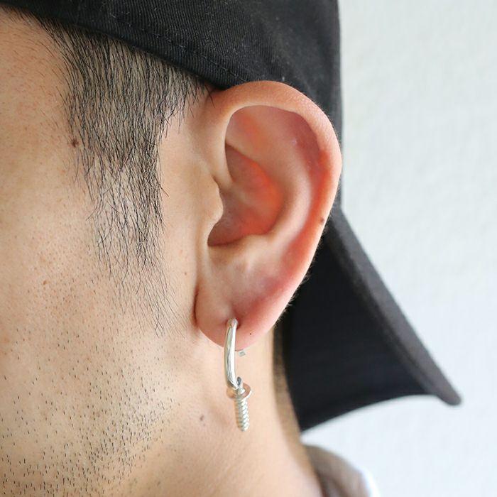 ピアス / ランプピアス M / 片耳 メンズ レディース ブランド おすすめ 人気 誕生日 プレゼント ギフト シルバー ネジ ユニーク ユニセックス