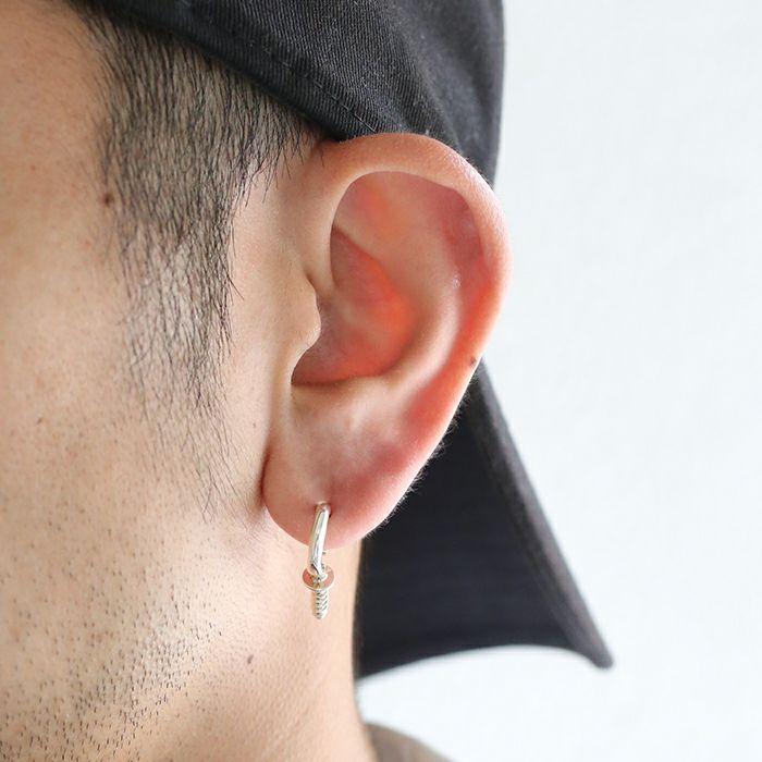 【ジャムホームメイド(JAMHOMEMADE)】ランプピアス S  - シルバー / 片耳