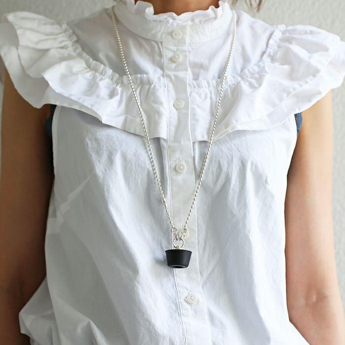 ネックレス / ドレイン ネックレス メンズ レディース ブランド おすすめ 人気 誕生日 プレゼント ギフト シルバー ユニーク ユニセックス お風呂 オリジナル ヴェイパーウェイヴ 重ね付け