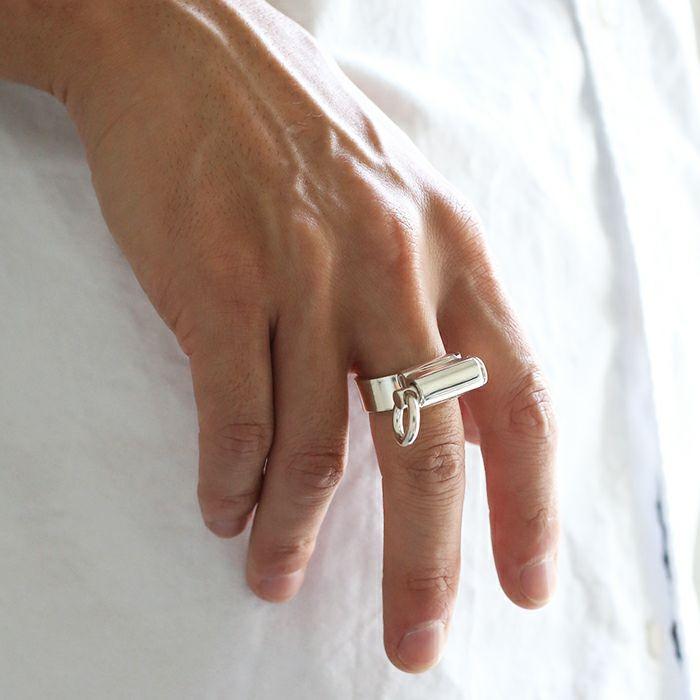 指輪 / バンドリング メンズ レディース ブランド おすすめ 人気 誕生日 プレゼント ギフト シルバー ユニーク ユニセックス オリジナル