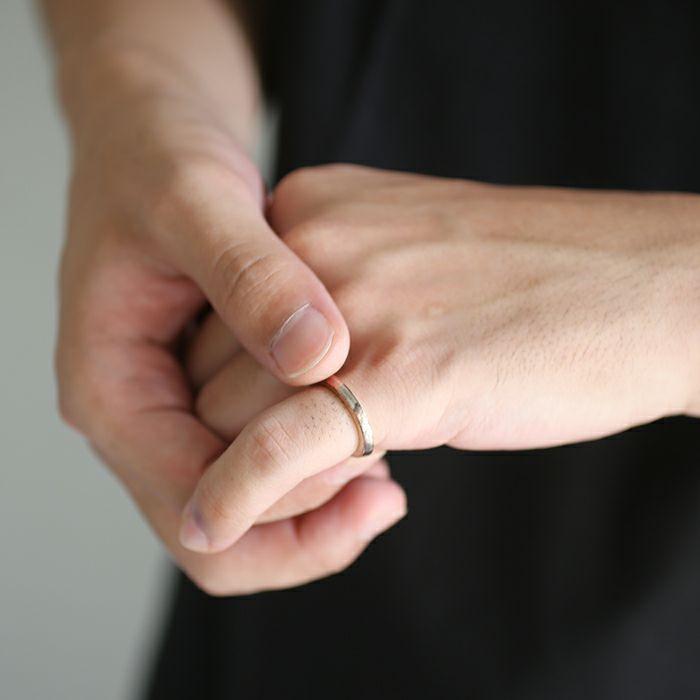 ダイヤモンドプラネットリング ネックレス