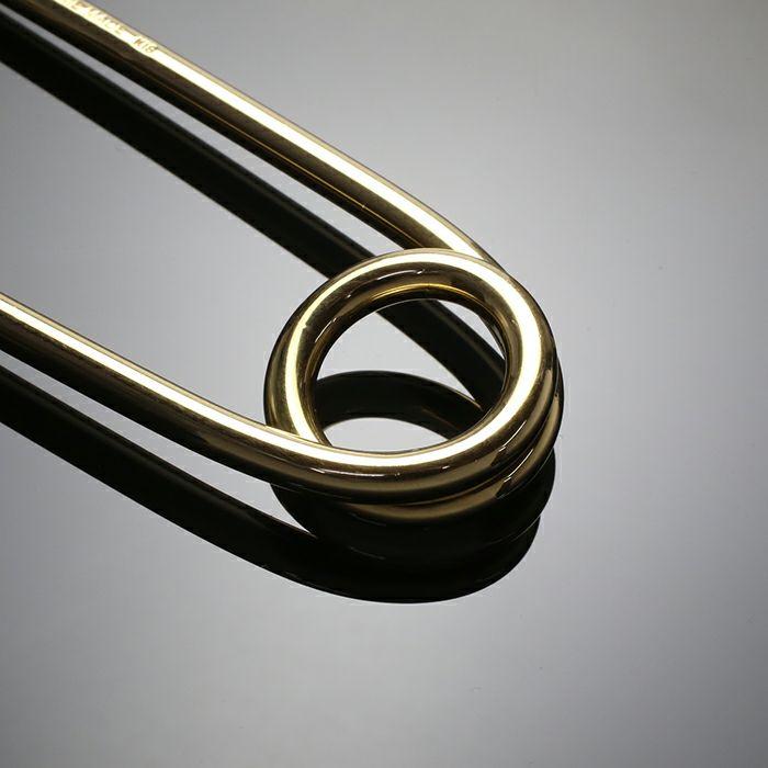 カスタマイズセーフティピン M -K18YELLOW GOLD-