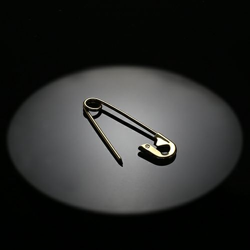 小物キーチェーン / カスタマイズセーフティピン S -K18YELLOW GOLD- メンズ 18金 イエローゴールド アクセサリー 安全ピン ピアス ストールストッパー キーホルダー パンク