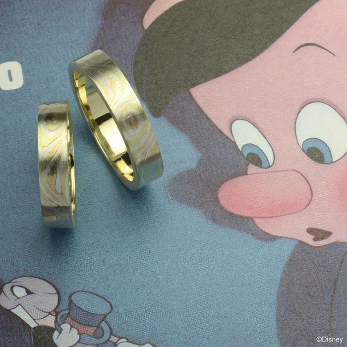 """ピノキオ""""指輪のうた""""マリッジリング"""