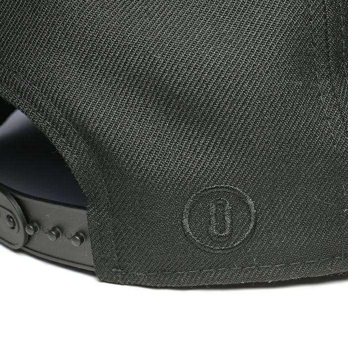 【JAM HOME MADE(ジャムホームメイド)】NEW ERA/ニューエラ DESIGNLESS STITCHis STITCH CAP -BLACK×BLACK- ブラック コラボ キャップ ブランド おすすめ プレゼント メンズ